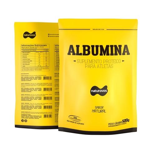 Albumina Naturovos - Natural - 500g