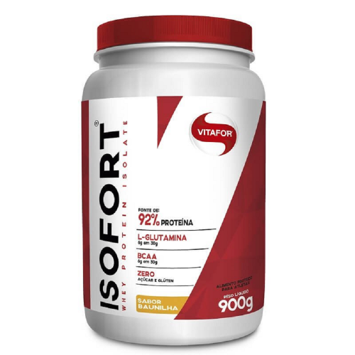 Isofort (Whey Protein Isolate) - Bio Protein - Baunilha (900g) - Vitafor