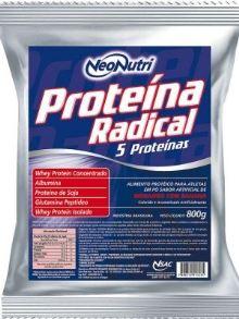 Proteína Radical Neo Nutri Morango com Banana - 800g