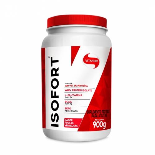 Isofort (Whey Protein Isolate) - Frutas Vermelhas (900g) - Vitafor