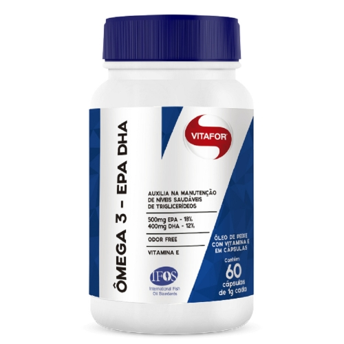 Ômega 3 - EPA DHA (60 Cápsulas) - Vitafor