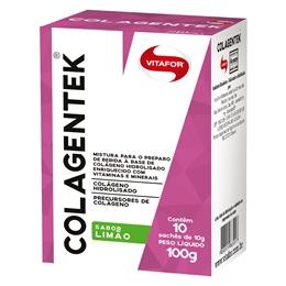 Colagentek (Colágeno Hidrolisado) Vitafor Limão - 10 sachês