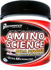 Amino Science BCAA Powder - Melancia - Performance Nutrition - 300g