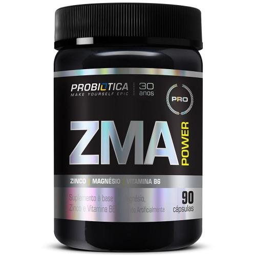 ZMA Power (90 Cápsulas) - Probiótica