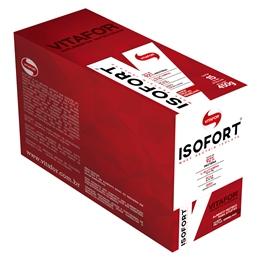 Isofort Caixa com 15 sachês Frutas Vermelhas Vitafor - 30g cada