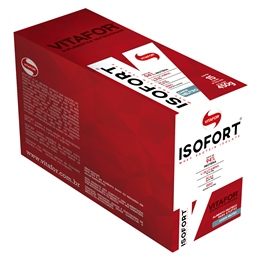 Isofort Caixa com 15 sachês Neutro Vitafor - 30g cada