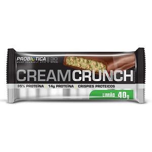 Cream Crunch Bar Limão - Pró Premium Line - Probiótica - 40 g