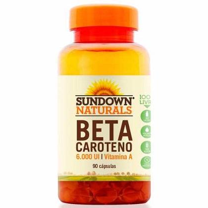 Beta Caroteno Sundown - 90 Cápsulas