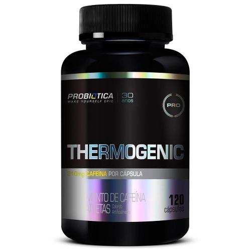 Thermogenic (120 Cápsulas) - Probiótica Millennium