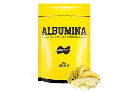Albumina Naturovos - Banana - 500g