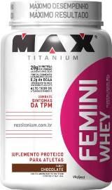 Femini Whey Max Titanium - Morango - 900g