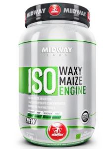 Iso Waxy Maize Midway - Limonada Suiça - 1,4Kg (Validade 04/2017)