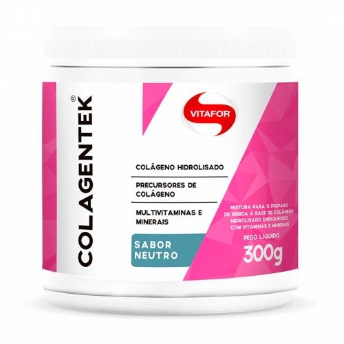Colagentek Sabor Neutro (Colágeno Hidrolisado) (300g) - Vitafor