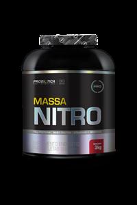 Massa Nitro NO2 - Probiótica - Morango - 3 Kg