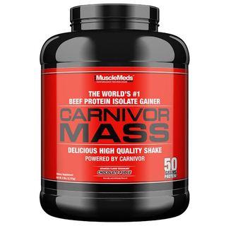Carnivor Mass Muscle Meds - Chocolate - 2.590g (Val. 05/2018)