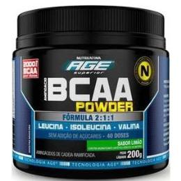 BCAA Powder Nutrilatina AGE - Limão - 200g