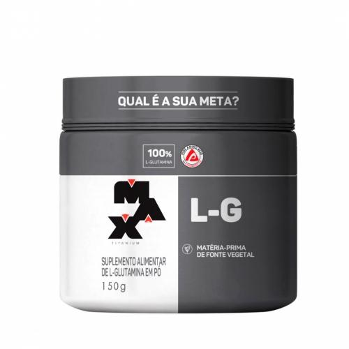Glutamina L-G (150g) - Max Titanium