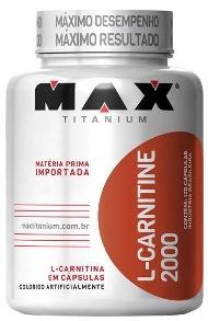 L-Carnitina 2000 Max Titanium - 120 Cápsulas