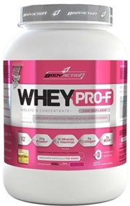 Whey Pro-F Body Action - Morango - 900g