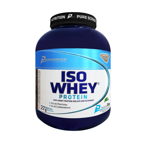 Iso Whey Protein Performance Nutrition - Cookies - 2.273g