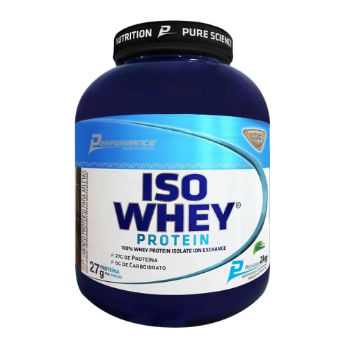 Iso Whey Protein Performance Nutrition - Cookies - 2Kg