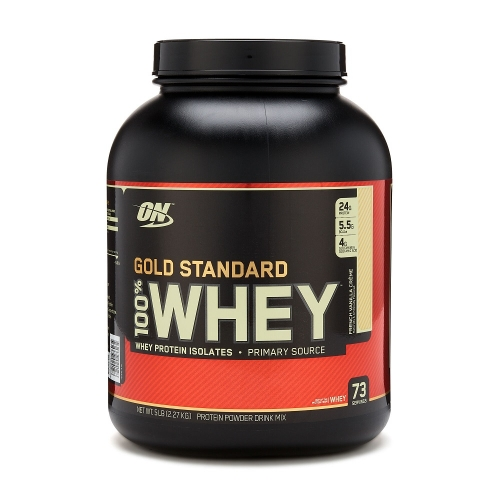 100% Whey Protein Gold Standard Optimum Nutrition - Rock Road - 2.270g