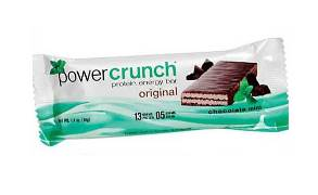 Power Crunch Original Bio Nutricional Chocolate com Menta - 40g