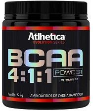 BCAA 4:1:1 Powder (Limão) - Atlhetica Evolution - 225g