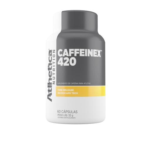 Caffeinex 420 (60 Cápsulas) - Atlhetica Nutritrion