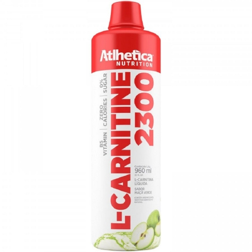 L-Carnitina 2300 - Atlhetica Evolution - Abacaxi - 480ml