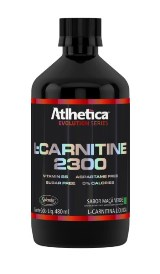 L-Carnitina 2300 - Atlhetica Evolution - Limão - 480ml