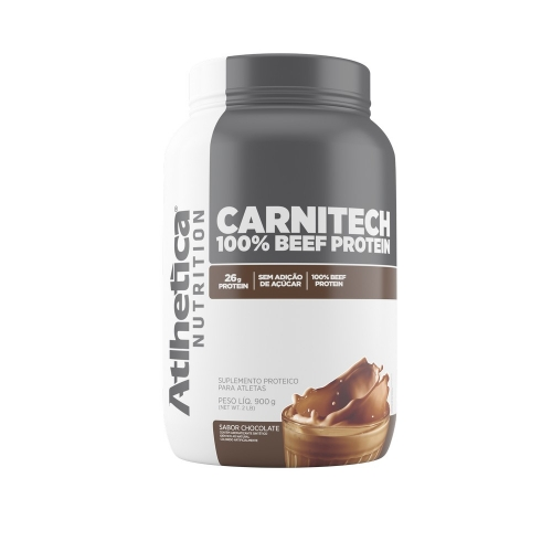 Carnitech 100% Beef Protein - Atlhetica Evolution - Chocolate - 900g