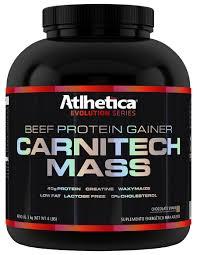 Carnitech Mass - Atlhetica Nutrition - Morango - 3Kg