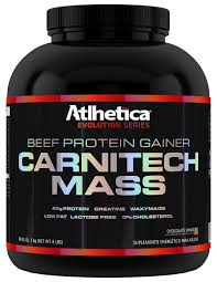 Carnitech Mass - Atlhetica Nutrition - Chocolate - 3Kg