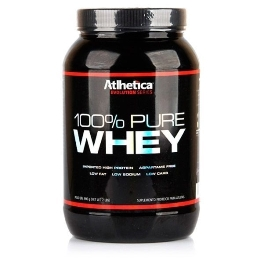 100% Pure Whey Sabor Chocolate (900g) - Atlhetica Evolution