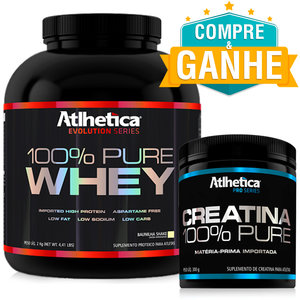 100% Pure Whey Sabor Chocolate (2Kg) - Atlhetica Evolution