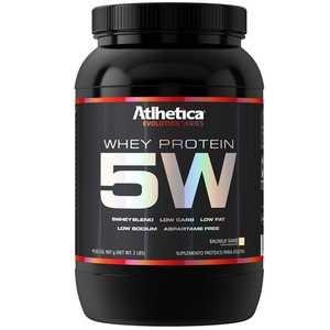 Whey Protein 5W - Atlhetica Evolution - Baunilha - 907