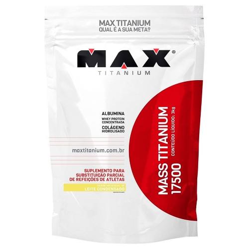 Mass Titanium 17500 - Leite Condensado - 3Kg