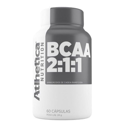 BCAA 2:1:1 (120 Cápsulas) - Atlhetica Nutrition