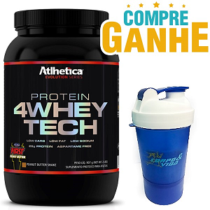 4 Whey Tech - Atlhetica Evolution - Baunilha - 907g