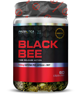Black Bee - Probiótica - 60 Cápsulas