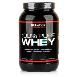 100% Pure Whey - Atlhetica Evolution - Morango - 900g