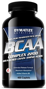 BCAA Time Release Dymatize - 400 Tabletes