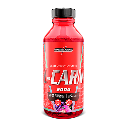 L-Carn Liquid - Tangerina - Integralmédica - 480ml