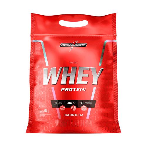 Nutri Whey Protein (Refil) Sabor Baunilha (907g) - Integralmédica