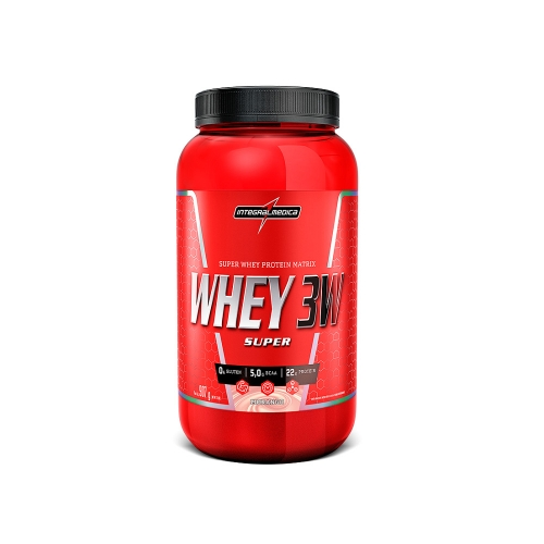Super Whey 3W Sabor Chocolate (907g) - Integralmédica
