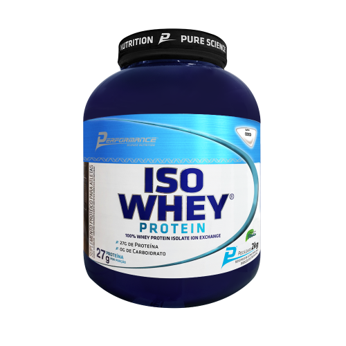 Iso Whey Protein Performance Nutrition - Coco - 2.273g
