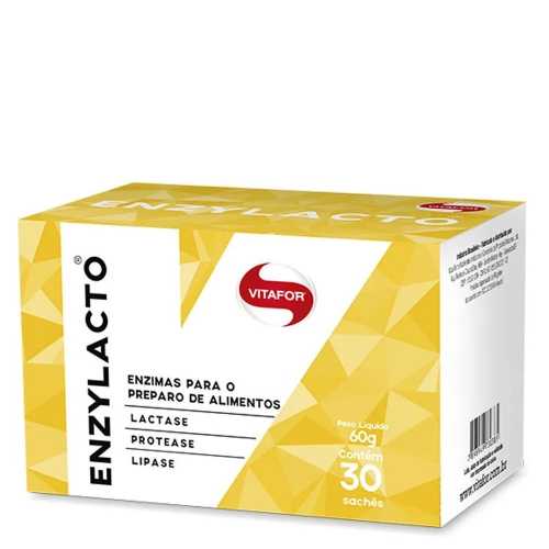 Enzylacto Ultra (30 Sachês) - Vitafor