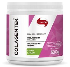 Colagentek (Colágeno Hidrolisado) Limão - Vitafor - 300g
