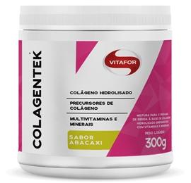 Colagentek (Colágeno Hidrolisado) Abacaxi - Vitafor - 300g